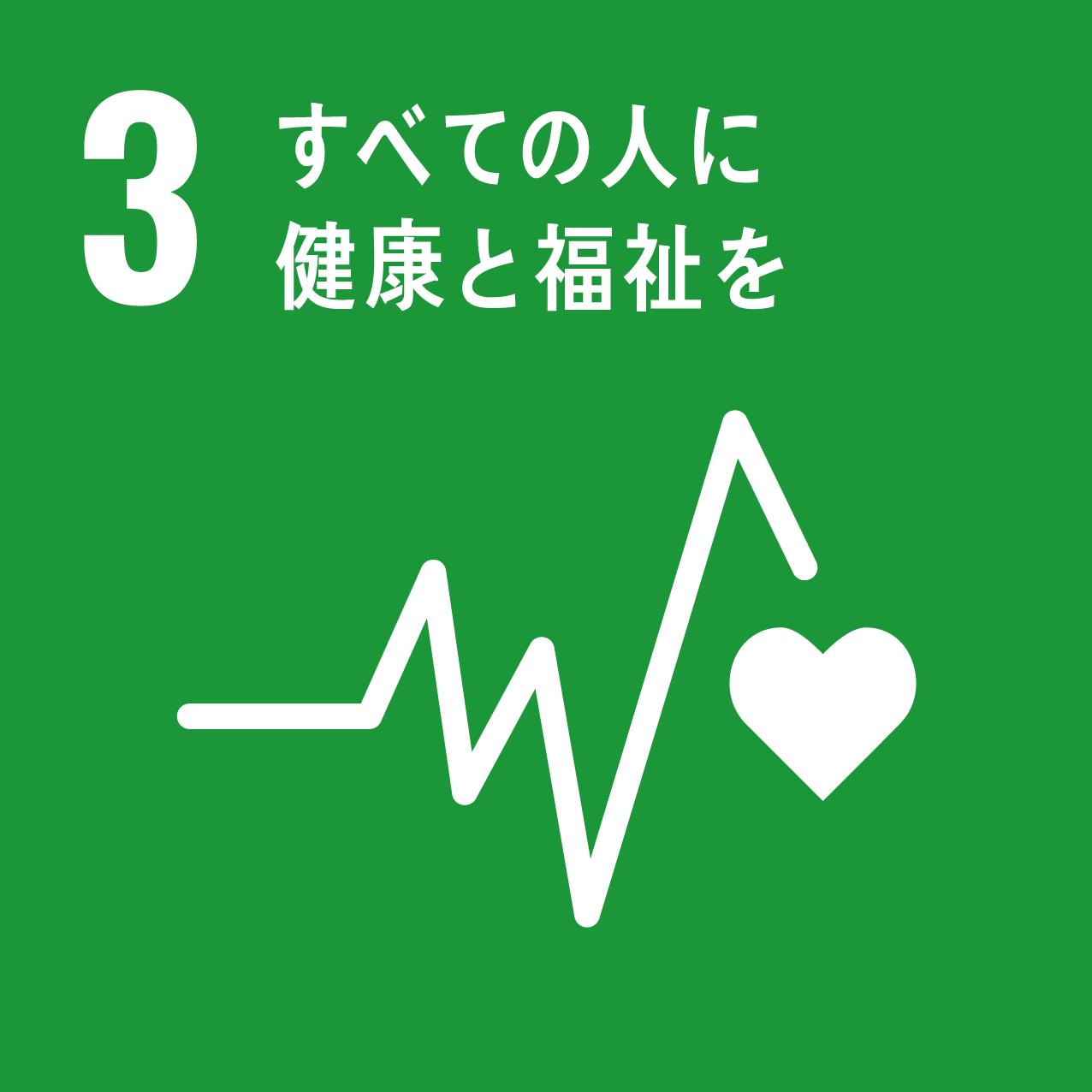 Goal3 すべての人に健康と福祉を