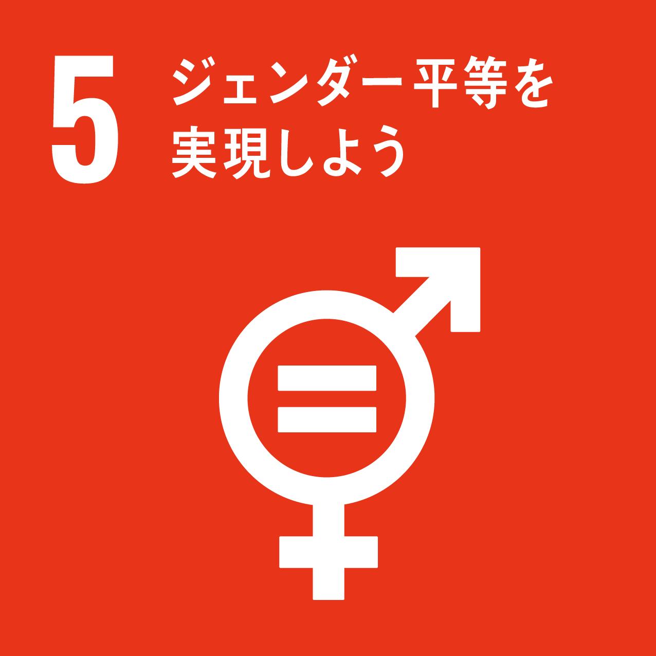 Goal5 ジェンダー平等を実現しよう