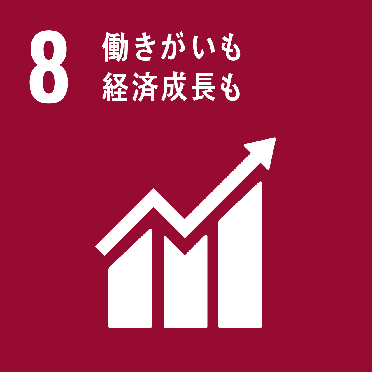 Goal8 働きがいも 経済成長も